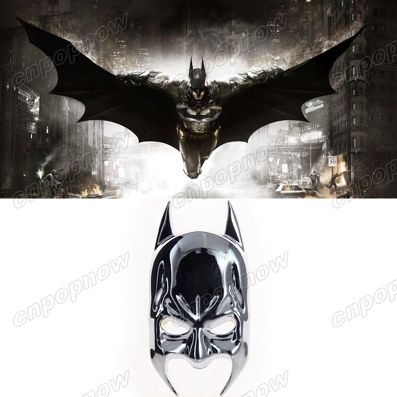 Metal Silver Emblem Badge Batman Mask Dark Knight Decor Tail Decals Car Sticker #6022#(China (Mainland))