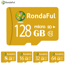 Buy RondaFul TF Card 32gb phone micro sd Card 128GB 64GB 32GB 16GB 8GB C10 UHS-1 Memory Card xedain PC/Tablet High Speed for $5.89 in AliExpress store