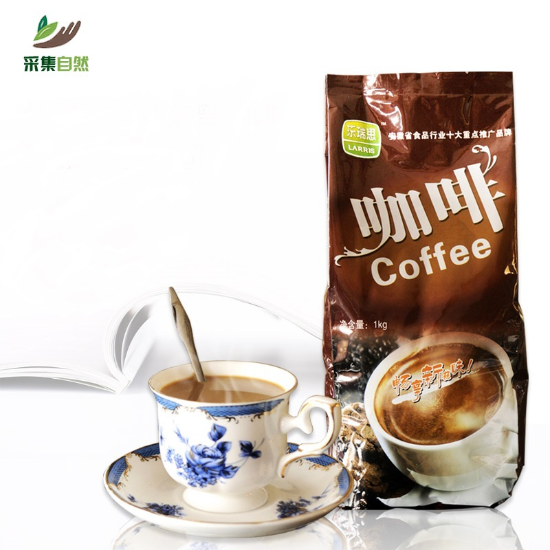 800 g triad Instant sweet black coffee powder sugar coffee mate silky organic chinese coffee slimming
