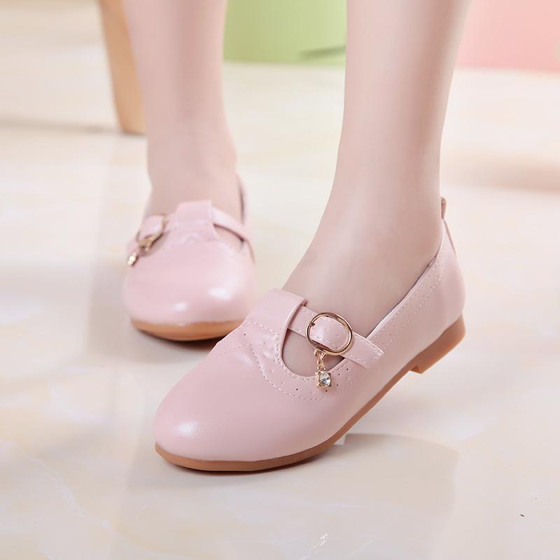 Кожаная обувь для девочек 110