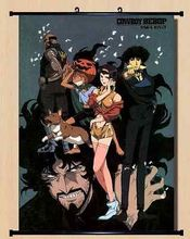 Home Decor JP Wall poster Scroll Cowboy Bebop Spike Spiegel Bang ! Cosplay X003