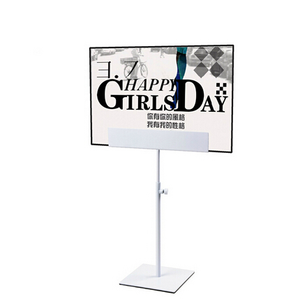 Adjustable Table Poster Stand Metal Banner Billboard Display Stand Poster Display Rack Sign Holder For A3 & A4 Poster(China (Mainland))