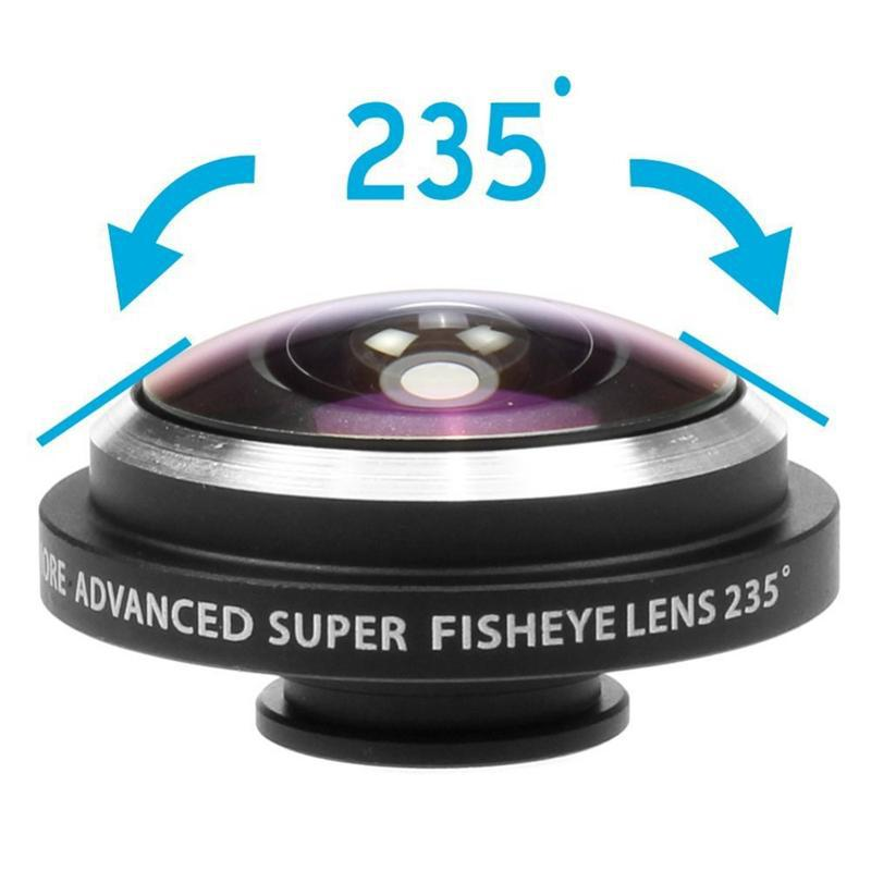 Universal Super 235 Detachable Clip Fish eye Fisheye Lens Camera For All Phones iPhone 4S 5S 5C 5 6 Samsung Galaxy S3 S4 S5 Note