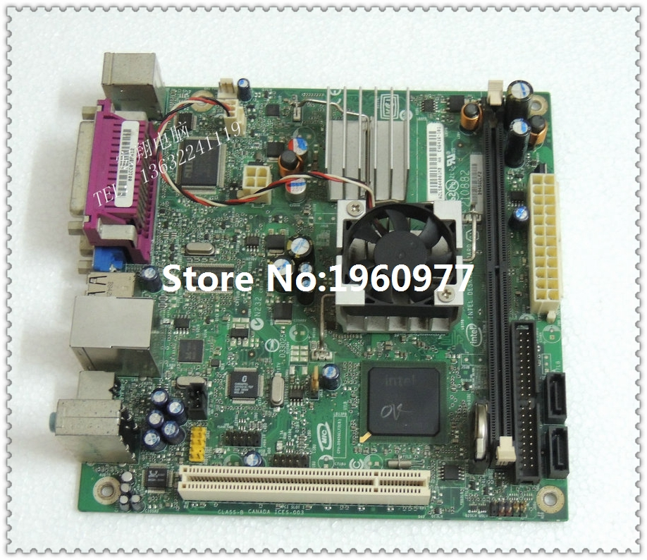 D945GCLF2 945GC for intel Atom 330 dual-core 1.6G four threads with S-Video(China (Mainland))
