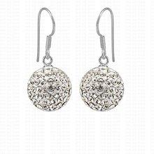 Серьги  от Wholesale fashion jewelry 925 silver jewelry online для Дети, Люди, Unisex, Женская, материал Кристалл артикул 468586831