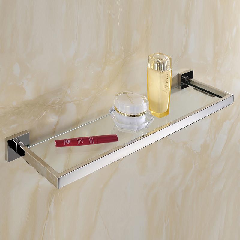 Nickel bathroom shelves promotion shop for promotional - Etagere murale pour wc ...
