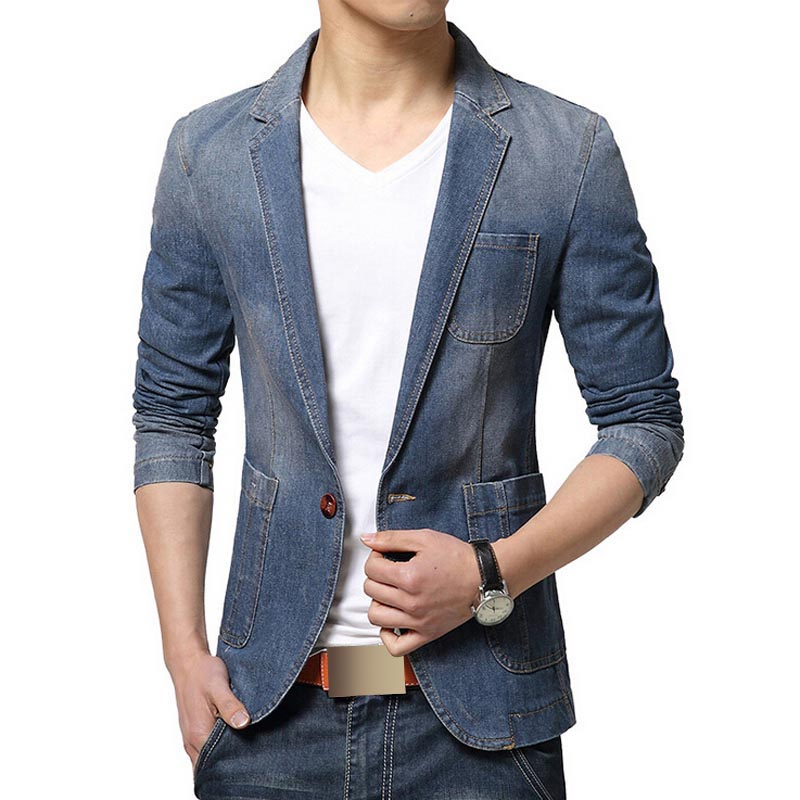 Men's Denim Jackets. invalid category id. Men's Denim Jackets. Showing 40 of 40 results that match your query. Product - Men's 3 Button Single Breasted Dress Suit, 14 Colors. Product Image. Price $ Product Title. Men's 3 Button Single Breasted Dress Suit, 14 Colors. Add To Cart.
