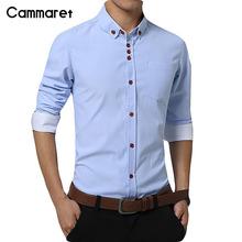 Men shirt long sleeve solid color dress slim fit casual shirts camisa 1318