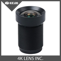 4K LENS 4 35MM Gopro Lens with Dust Ring 1 2 3 Inch 10MP IR 72Degree