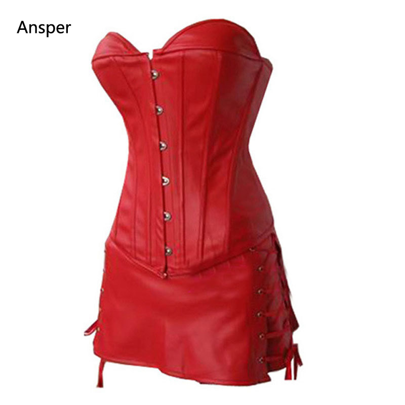Red corset dresses