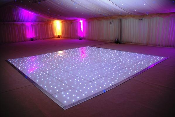 Freeshipping White Black Led Dance Floor For Sale Star