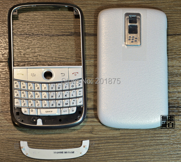 Free shipping wholesale 5pcs lot original mobile phone housing for Blackberry pearl Bold 9000(China (Mainland))