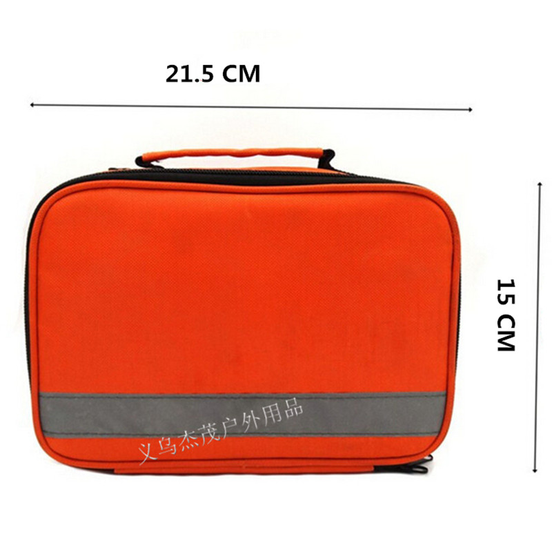 Top Quality New first aid kit Emergency Travel kit Family first aid kit bag outdoor big medical Survival kits 21.5*15*8 CM(China (Mainland))