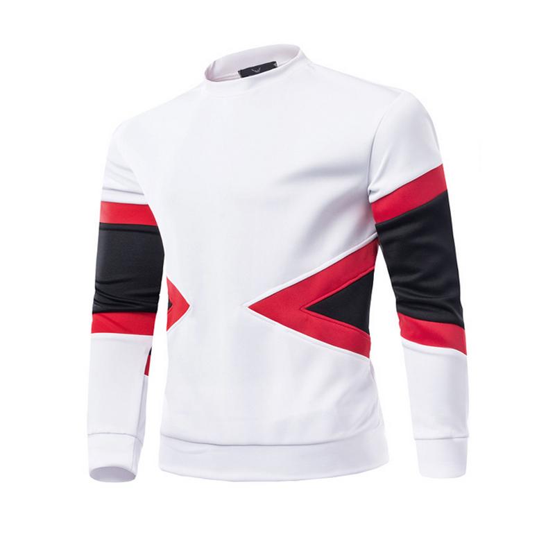 Осень зима новое поступление 2015 мужская толстовки геометрия модели с длинными рукавами о-образным шею толстовки хип-поп harajuku одежда