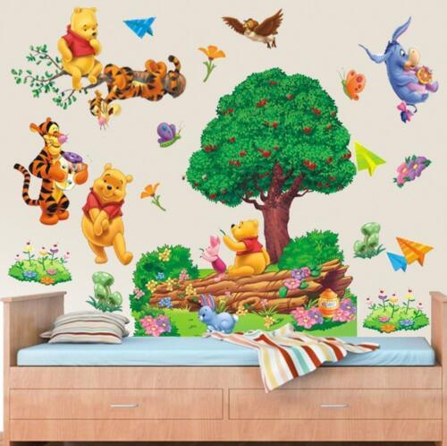 large winnie the pooh wall sticker art vinyl decals kids