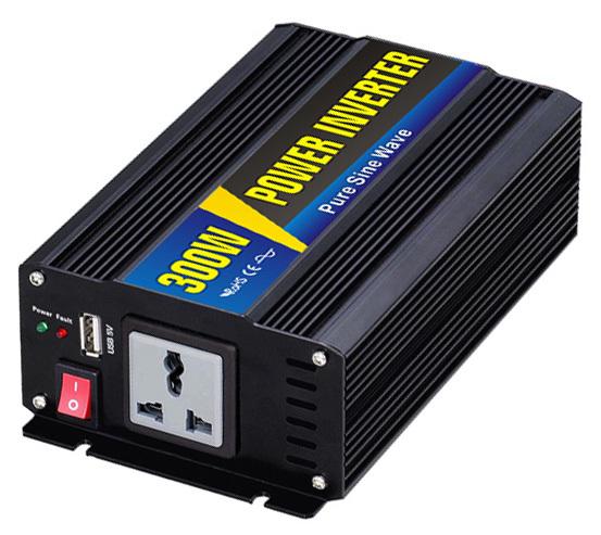 12V/24V DC to 220V AC 300W pure sine wave power inverter<br><br>Aliexpress
