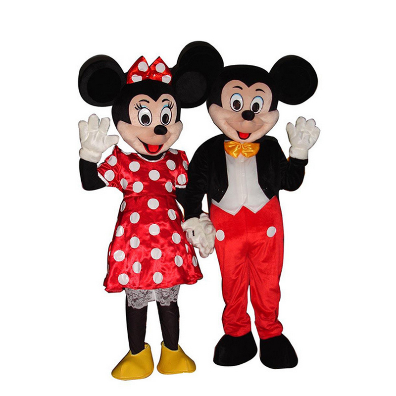 Hot-Sale-Mickey-and-Minnie-Mouse-Adult-Mascot-Costume ...