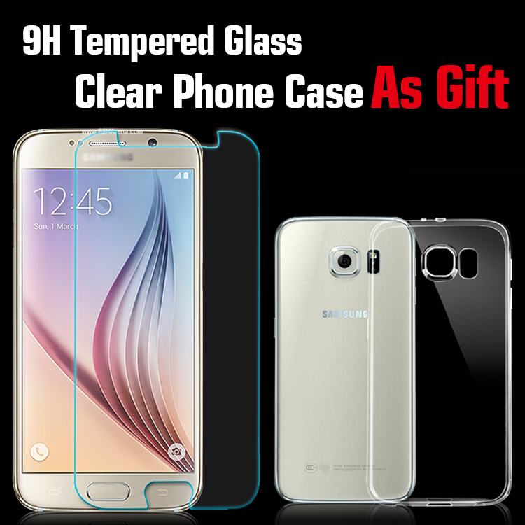 Premium Tempered Glass Screen Protector for Samsung Galaxy S6 Glass Screen Protector Tempered Glass Protective Phone
