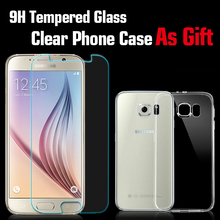 Premium Tempered Glass Screen Protector for Samsung Galaxy S6 Glass Screen Protector Tempered Glass Protective Phone Film For S6