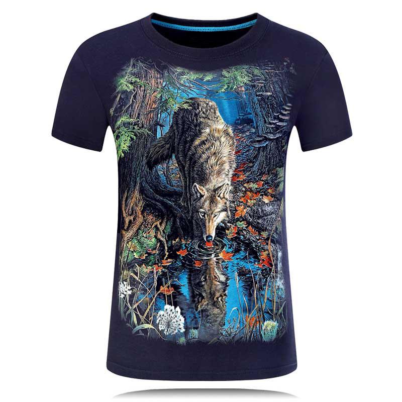 HTB1bfdVQFXXXXXyXpXXq6xXFXXXw - 2017 Summer New 3D T Shirt Men's Short-sleeve Fashion O-Neck animal T-shirt Printed Casual Navy blue Male Shirts Plus size 6XL