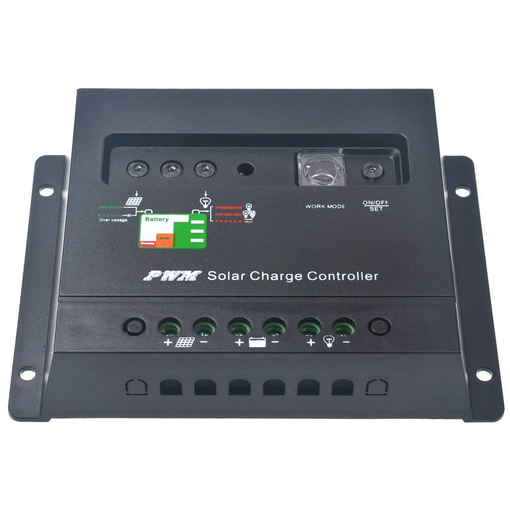 20A Solar Charge Controller Regulator 12V 24V Autoswitch 480W Solar Panel 20A Light & Timer Control(China (Mainland))