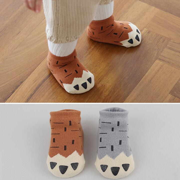 Winter wear Baby socks newborn anti-slip floor socks kids cotton socks Cotton boy and girl children socks Free shipping