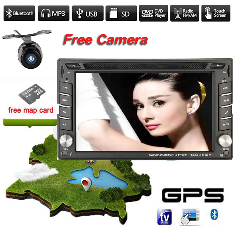 2015 Newest 2 Double Din Car Dvd Player Pc Gps Navigation Stereo Video Multimedia Universal Head Unit Double BT MP3(China (Mainland))