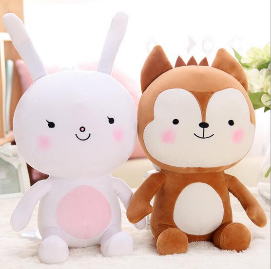 20cm Descendants of the Sun Plush Toy, Fox Plush And Rabbit Plush Toys 1PCS Stuffed Animal Doll For gift(China (Mainland))