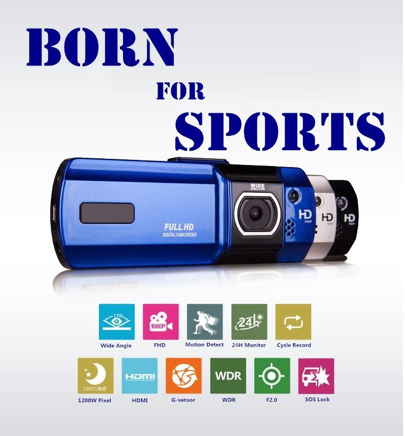 High Quality Car DVR Camera Dashcam Full HD 1080P Novatek 96650 Registrator Video Recorder Dash Cam LED Light Detector Sports DV(China (Mainland))