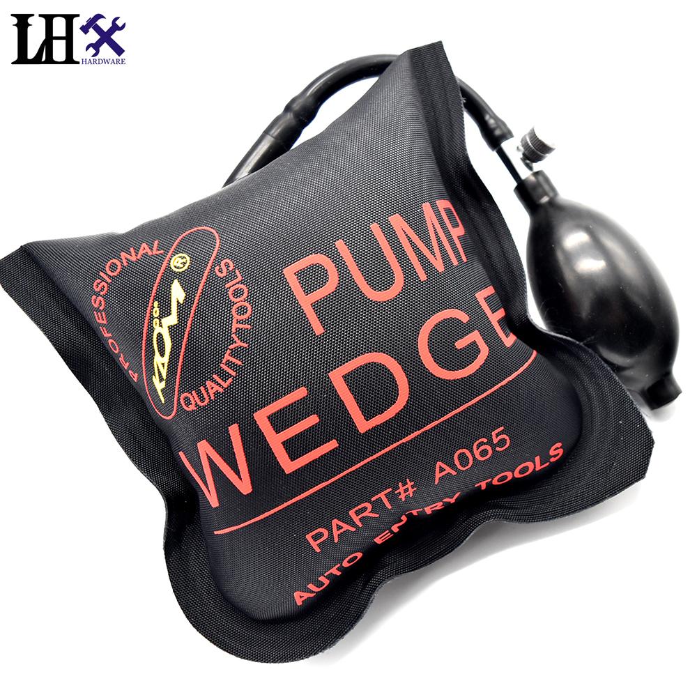 LHX Hardware KLOM PUMP WEDGE LOCKSMITH TOOLS Auto Air Wedge Airbag Lock Pick Set Open Car Door Lock(China (Mainland))