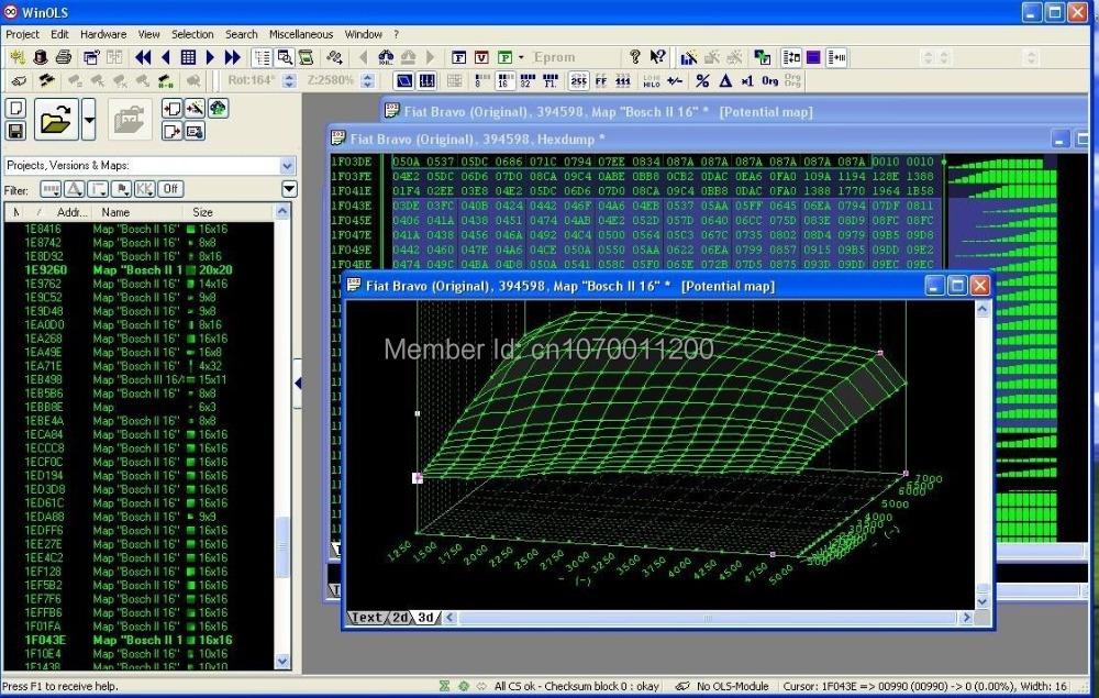 7.4GB MEGA Pack! New Damos Files for WinOls Remap Tuning(China (Mainland))