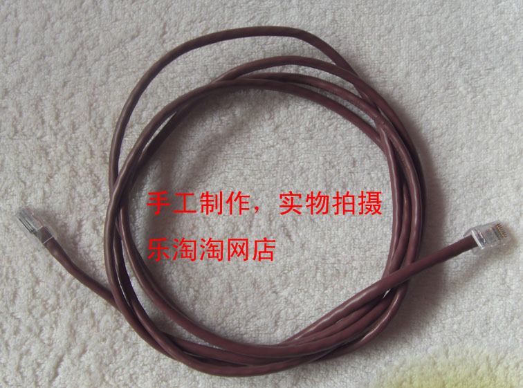 Ethernet cable finished product ethernet cable notebook ethernet cable computer ethernet cable 1 meters 3 meters 10 meters(China (Mainland))