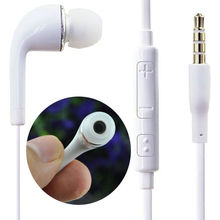 3.5mm Stereo Headphone Earphone headset With Volume & Mic Control  For Samsung Galaxy S6 S3 S4 S5 S2 Note 2 3 For iphone 6 5 5s
