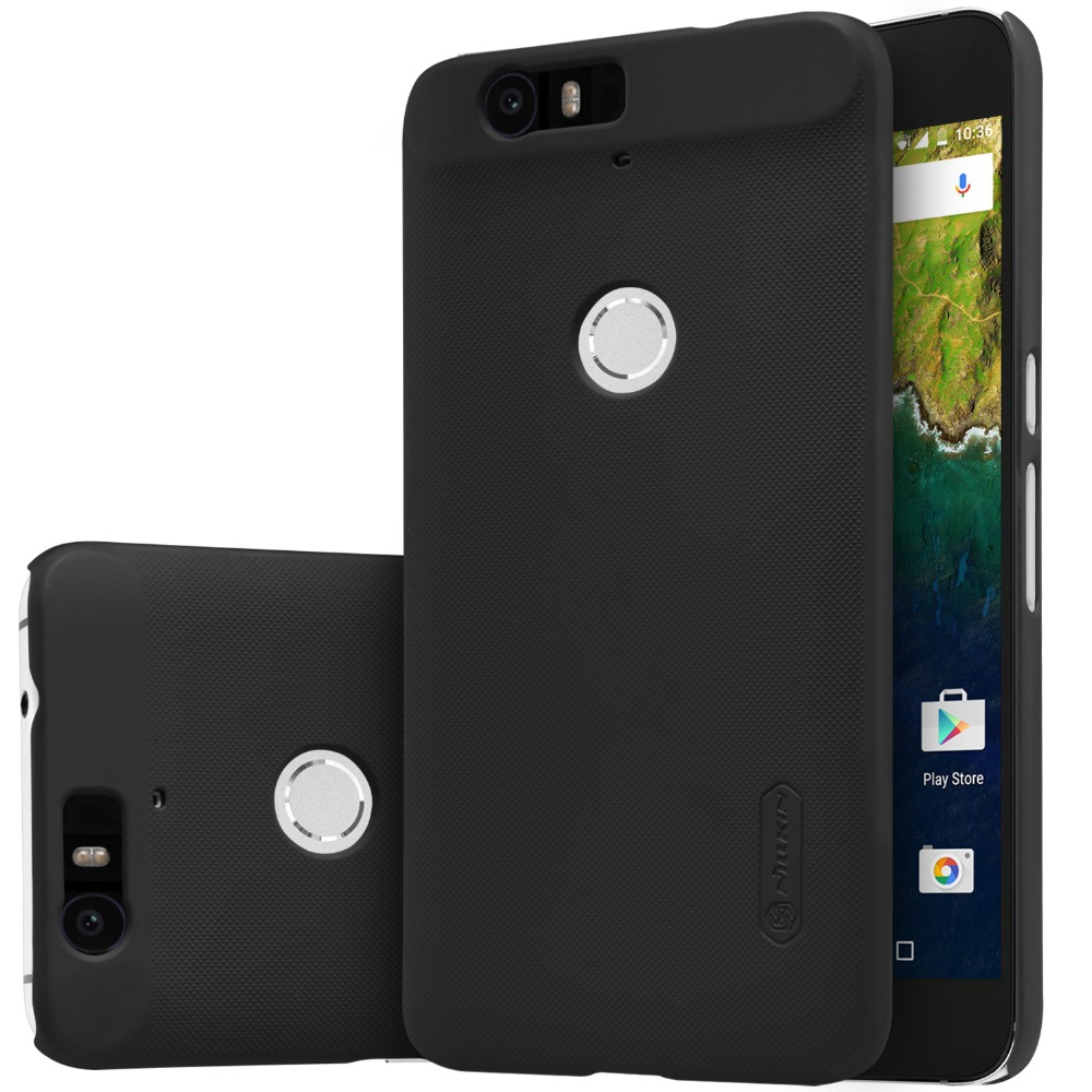 2015 Huawei Nexus 6P cover NILLKIN Super Frosted Shield case back cover for Google Huawei Nexus 6P with free screen protector