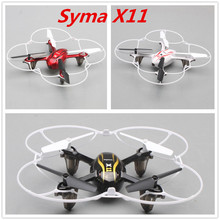 Syma X11 RC drone helicopter quadcopter 4-Channel 2.4GHz 6-Axis Gyro Remote Control Quadricopter Toys with Flash Lights(China (Mainland))