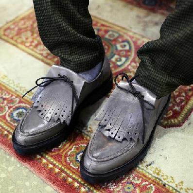size38-44 2014 fashion men's platform thick sole antiskid tassels korean genuine leather trend casual shoes - Fashion Men & Women Shoes store