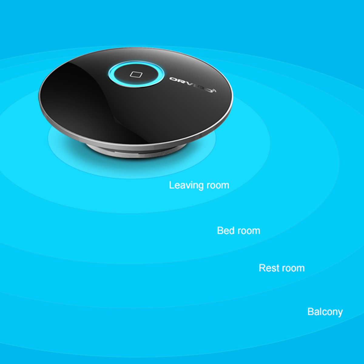 Smart Intelligent Home Phone wireless Remote Control Switch for IOS Android