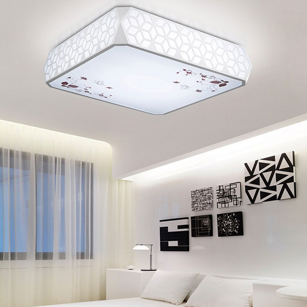 New Modern Brief LED Ceiling