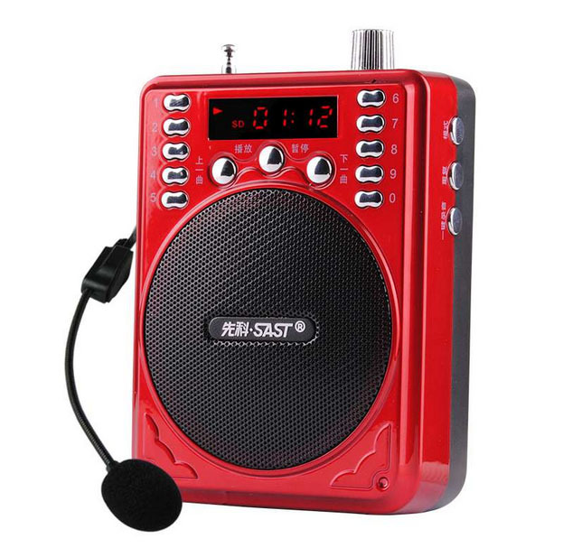 SAST S-205A Loudspeaker with Microphone Voice Amplifier Booster Megaphone Speaker For Teaching Tour Guide Sales Promotion<br><br>Aliexpress