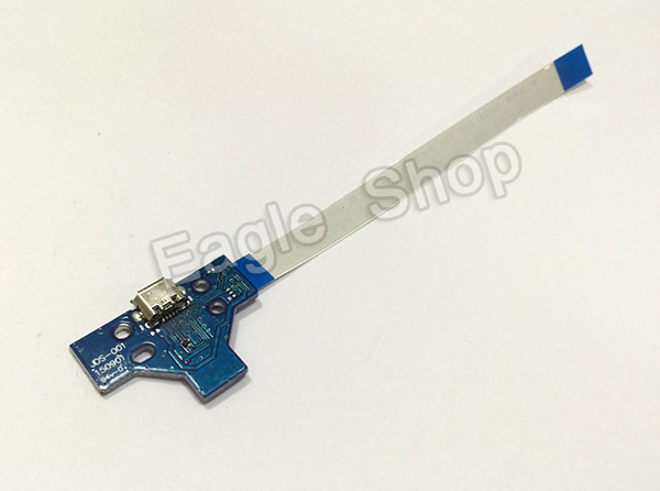 For PS4 Controller LED Power Board 12pin & 14pin For PS4 Joystick Charger PCB Board Ribbon Cable(China (Mainland))