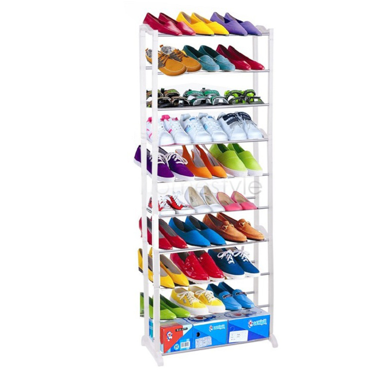 1pc Cheap Modern 10-Layer Shoe Rack/Shoe Shelf/Shoe Cabinet Easy Installation Stand For Shoes Shelf For Books US02(China (Mainland))