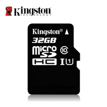Kingston Micro SD Card SDHC UHS-I U1 32GB 32 GB C10  Memory Card Class 10 TF Card for Smartphones Mp3 Tablet and Camera(China (Mainland))
