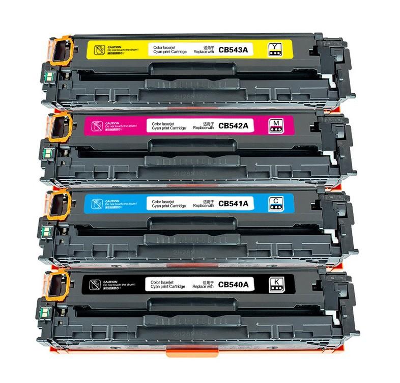 Заправка HP LJ 1215 CB540A (№125A) CB541A (№125A) (голубой), CB542A (№125A) (желтый), CB543A (№125A) (пурпурный) в Барнауле