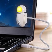 2015 Creative Robot Night Light Novelty Gadget USB Led Light With Adjustable Luminance Led Night Light   NIVE(China (Mainland))