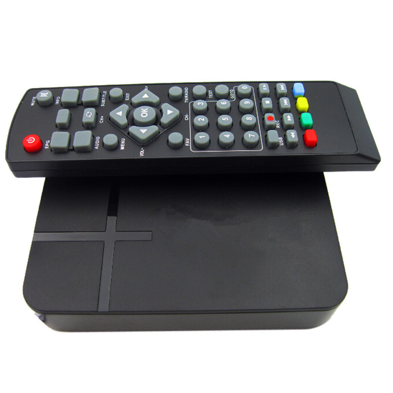 Full HD 1080P Digital Video Terrestrial MPEG4 PVR Receiver Smart STB TV Box Set-top Boxes With Remote Control And EU Plug Apater