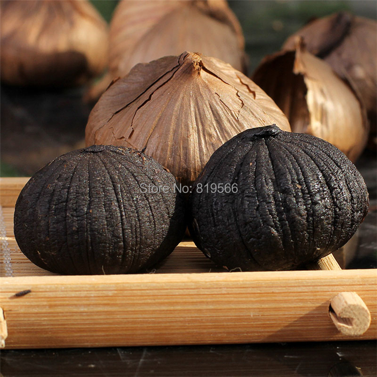 New Black garlic 100g Pure Taste 100% Organic 90 Days Fermentation Chinese health care product Anti-cancer Nutrition Hot Sale<br><br>Aliexpress