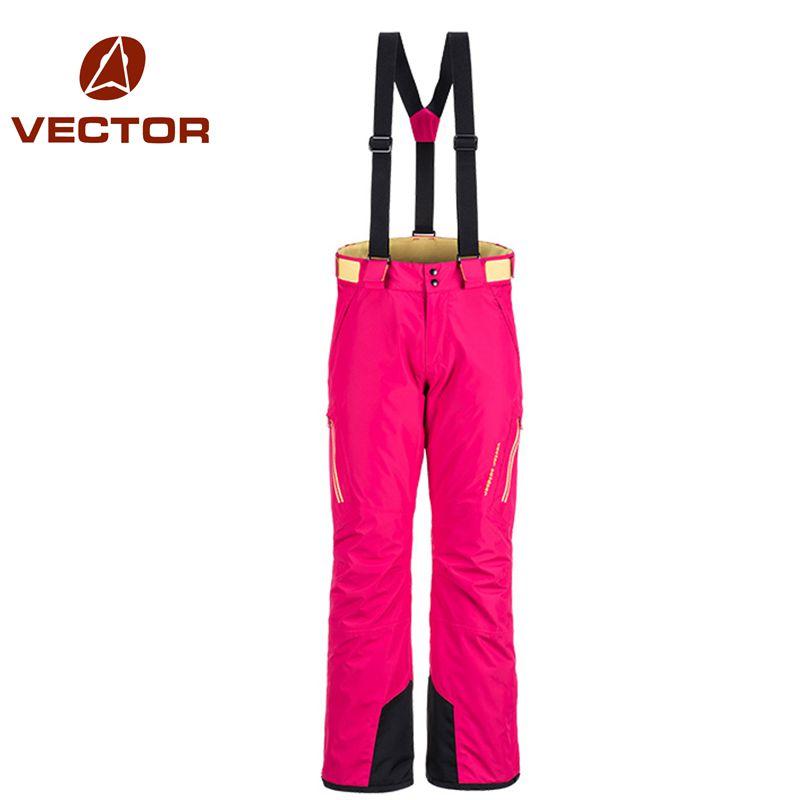 VECTOR Brand Professional Ice Ski Pants Women Waterproof Snow Pants Winter Warm Snowboard Pants Outdoor Skiing Pants 50017(China (Mainland))