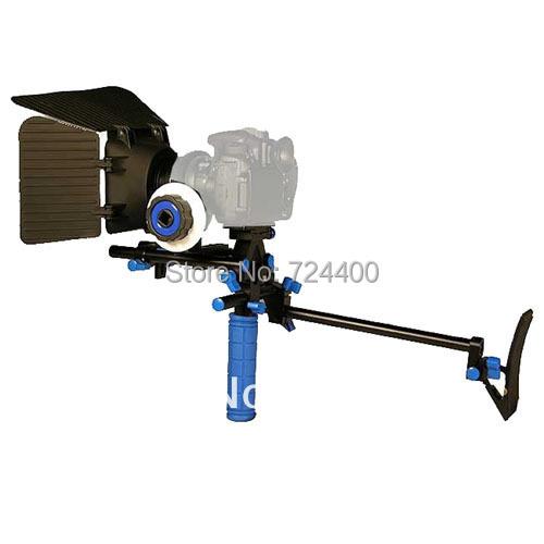 Steadycam Fotografia Stabilizer [drop Shipping] Wholesale New Dslr Rig Hand & Shoulder Rl-00 +follow Focus+matte Box+ C Frame
