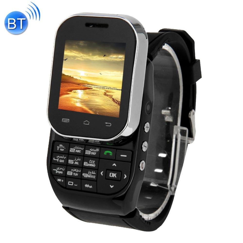 KEN XIN DA W1 Slide-out Keyboard Smart Watch Phone QCIF Touch Screen Support Dual SIM Bluetooth FM Radio MP4 GSM(China (Mainland))