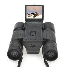 1080P Digital Camera 2.0″ LCD 5MP 12 x 32 Zoom Binocular Camcorder DV with Telescope lens binoculars Camera  microSD / TF black